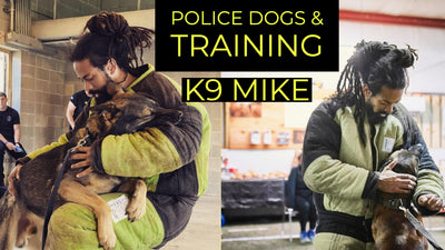 HOW TO PICK A POLICE DOG, MARKER TRAINING & BITEWORK | K9 Mike
