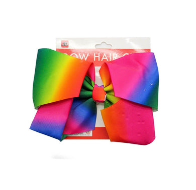 Rainbow Bow Hair Clip - The Base Warehouse