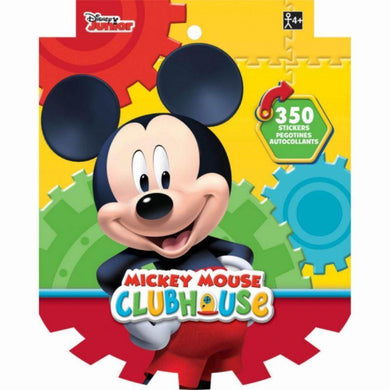 Mickey Mouse Sticker Book - 25cm x 20cm - The Base Warehouse