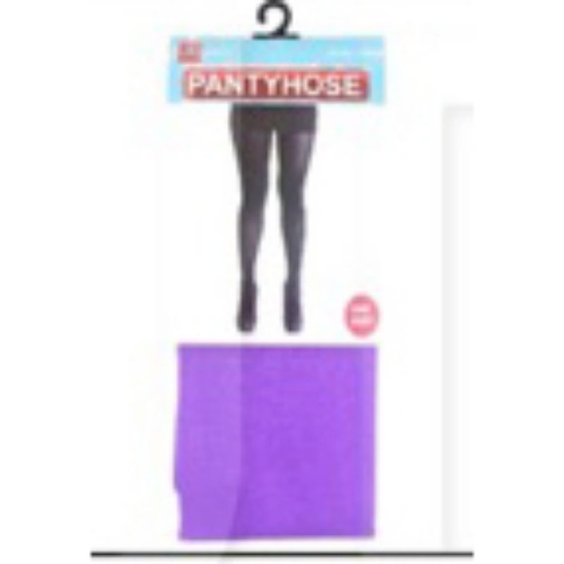 Purple Plain Colour Pantyhose