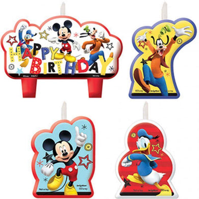 Mickey on the Go Birthday Candle Set - The Base Warehouse