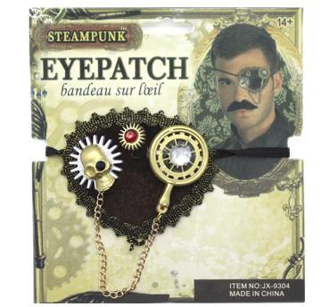 Adult Steam Punk Eye Patch - The Base Warehouse
