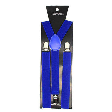 Blue Plain Suspender - The Base Warehouse