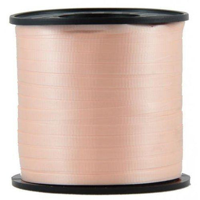 Peach Curling Ribbon Rolls - 5mm x 460m - The Base Warehouse