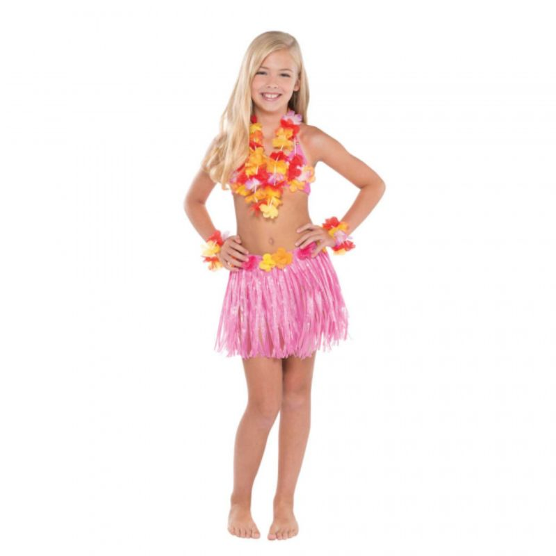 Kids Hula Skirt Kit