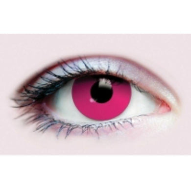 Magenta Evil Eyes Contact Lenses - The Base Warehouse