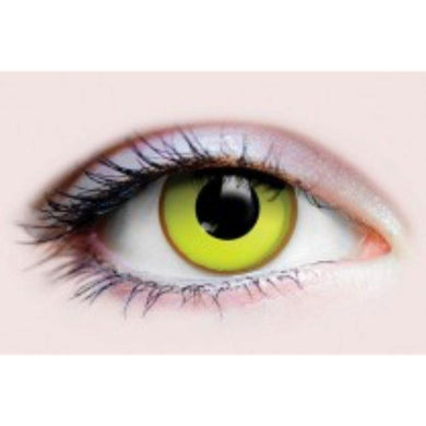 Yellow Nightcrawler Contact Lenses - The Base Warehouse