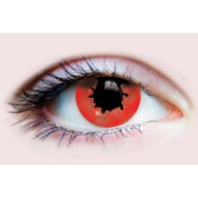 Red Contagion II Contact Lenses - The Base Warehouse