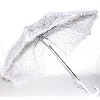 White Lace Umbrella - The Base Warehouse