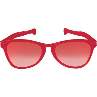 Red Jumbo Glasses - The Base Warehouse