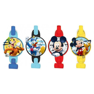 8 Pack Mickey On The Go Blowouts - 13cm - The Base Warehouse