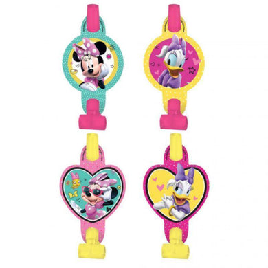 8 Pack Minnie Mouse Happy Helpers Blowouts - 13cm - The Base Warehouse
