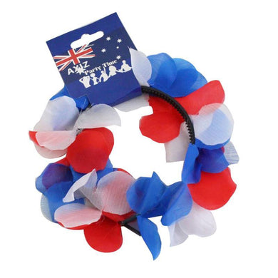 Australia Day Floral Headband - The Base Warehouse