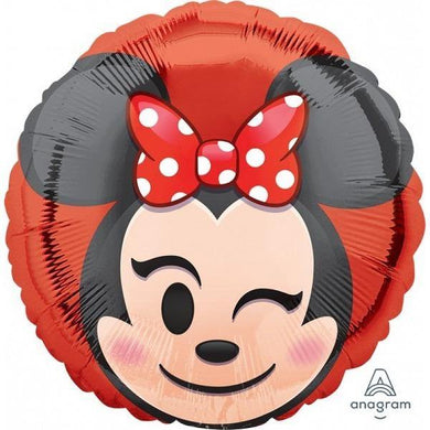Minnie Mouse Emoji Foil Balloon - The Base Warehouse