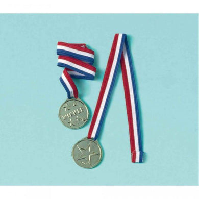 12 Pack Sports Party Award Ribbon Favor - The Base Warehouse