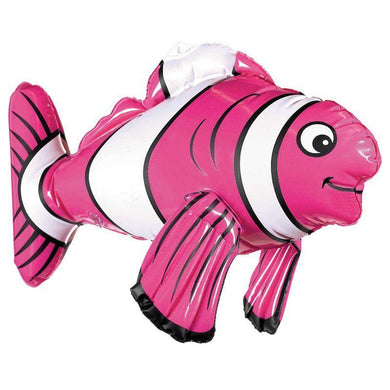 Inflatable Striped Fish - 43cm - The Base Warehouse