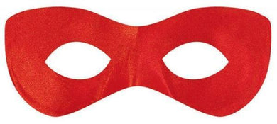 Red Super Hero Mask - The Base Warehouse