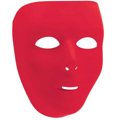 Red Full Face Mask - The Base Warehouse