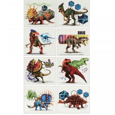 Jurassic World Tattoo Favors - 5cm x 4cm - The Base Warehouse