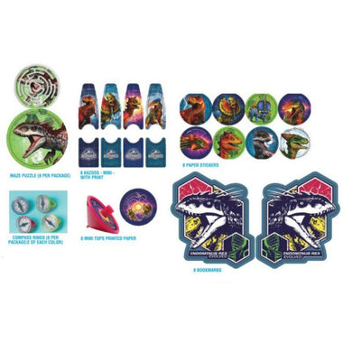 Jurassic World Mega Mix Favors Value Pack - The Base Warehouse