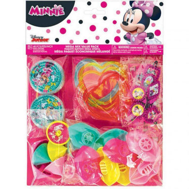 Minnie Mouse Mega Mix Favor Value Pack - The Base Warehouse