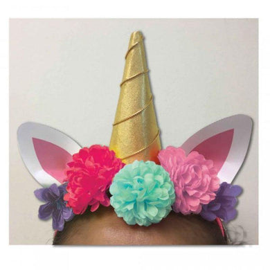 Magical Unicorn Deluxe Headband - The Base Warehouse