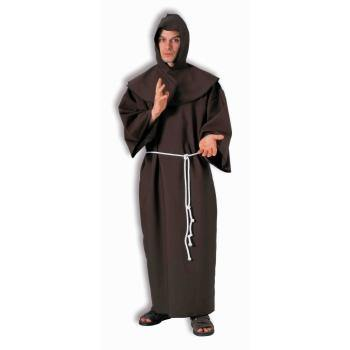 Adults Monk Robe Costume - One size fits most - The Base Warehouse