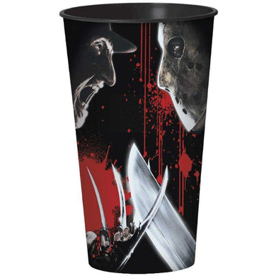 Freddy Versus Jason Plastic Cup - 946ml - The Base Warehouse