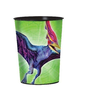 Jurassic World Plastic Favor Cup - 473ml - The Base Warehouse