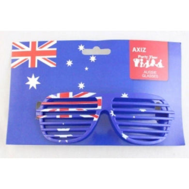 Aussie Flag Slatted Aviator Glasses - The Base Warehouse
