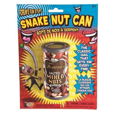 Prank Snake Nut Can - The Base Warehouse