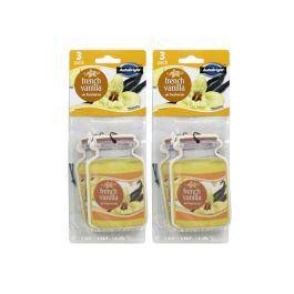 AutoBright 3 Pack French Vanilla Hanging Air Freshener - The Base Warehouse
