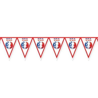 Soccer Banner All Weather USA - 28cm x 2.24m - The Base Warehouse