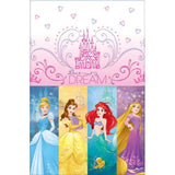 Load image into Gallery viewer, Disney Princess Plastic Tablecover - 1.37m x 2.43m