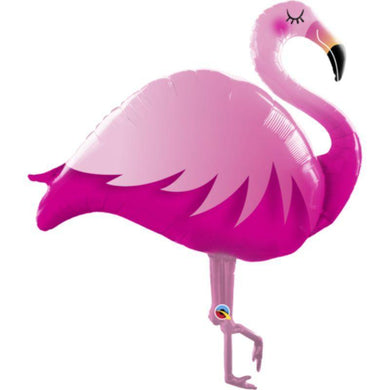 Pink Flamingo Foil Balloon - 117cm - The Base Warehouse
