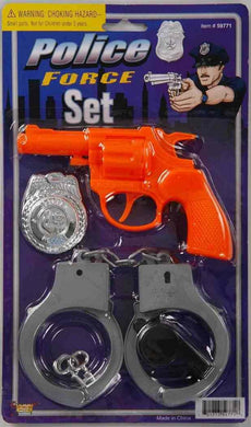 Police Costume Accessory Set - The Base Warehouse