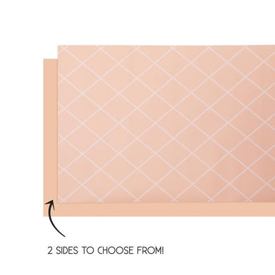 Peach Table Runner - 4m x 35cm - The Base Warehouse
