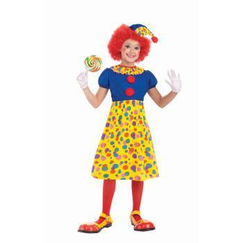 Kids Clown Girl Costume - Small - The Base Warehouse