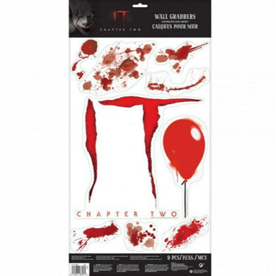IT Bloody Wall Decals - 60cm x 31cm - The Base Warehouse