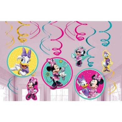 12 Pack Minnie Mouse Happy Helpers Swirl Value Pack - The Base Warehouse