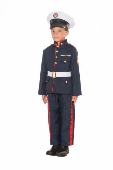 Boys Formal Marine Costume - Medium