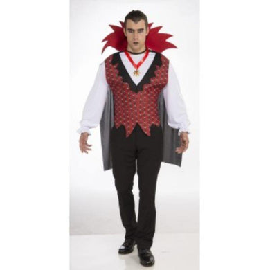 Mens Vampire Lord Costume - std - The Base Warehouse