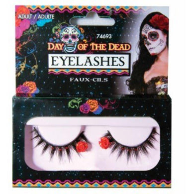 Day Of The Dead Eyelashes - The Base Warehouse