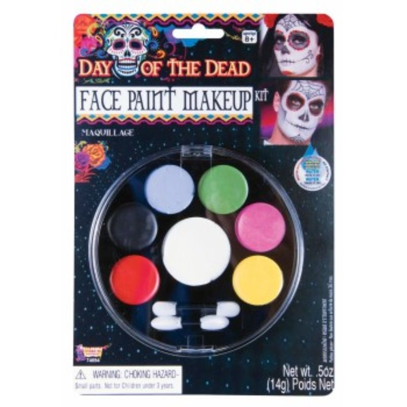 Day Of The Dead Face Paint Makeup