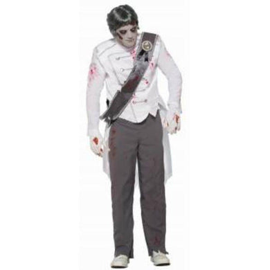 Mens Zombie Never After Prince Costume - std - The Base Warehouse