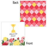 Load image into Gallery viewer, 16 Pack Melbourne Cup Beverage Napkins - 25cm