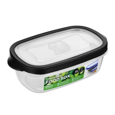 Rectangle Food Box - 800ml - The Base Warehouse