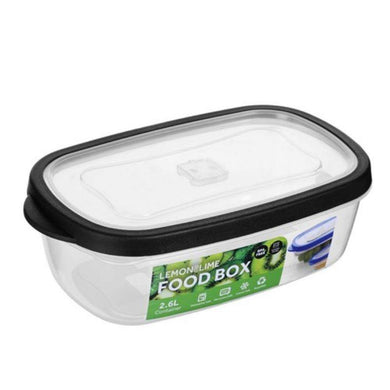 Rectangle Food Box - 2.6L - The Base Warehouse