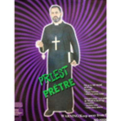 Mens Priest Halloween Costume - The Base Warehouse