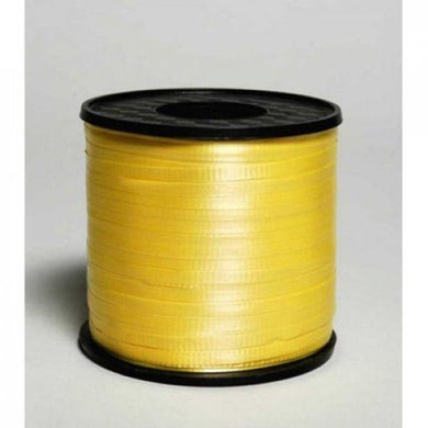 Yellow Curling Ribbon - 5mm x 460m - The Base Warehouse